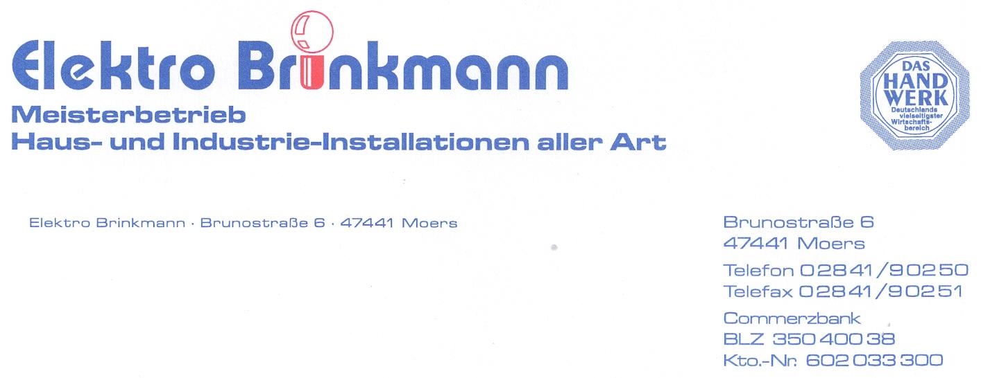 elektro brinkmann. Black Bedroom Furniture Sets. Home Design Ideas